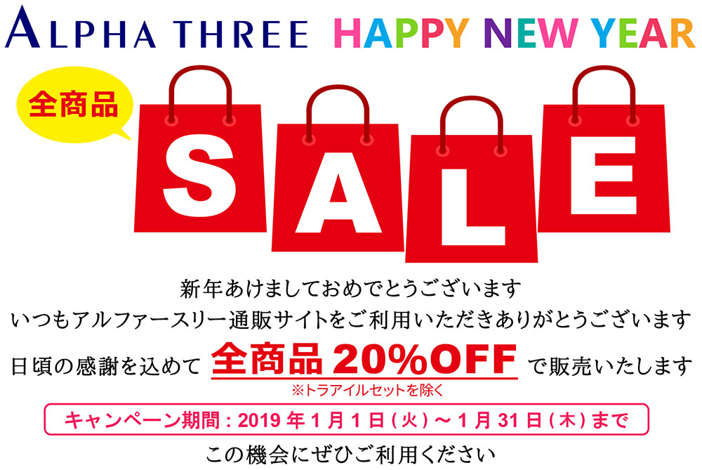 2019 HAPPY NEW YEAR SALE